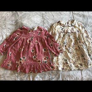 2 Zara baby girl dresses
